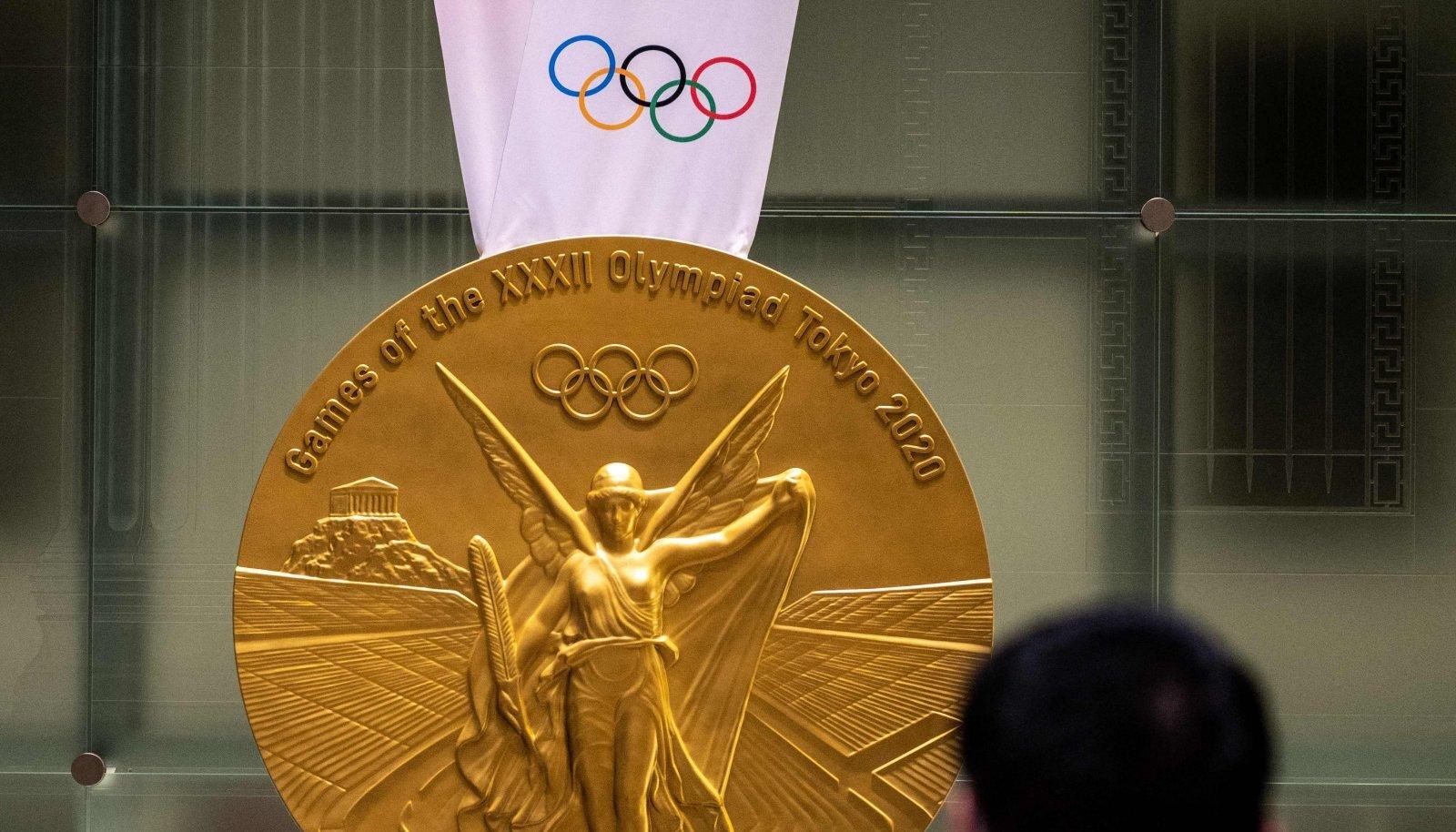 Tokyo olümpiamängude kuldmedal.