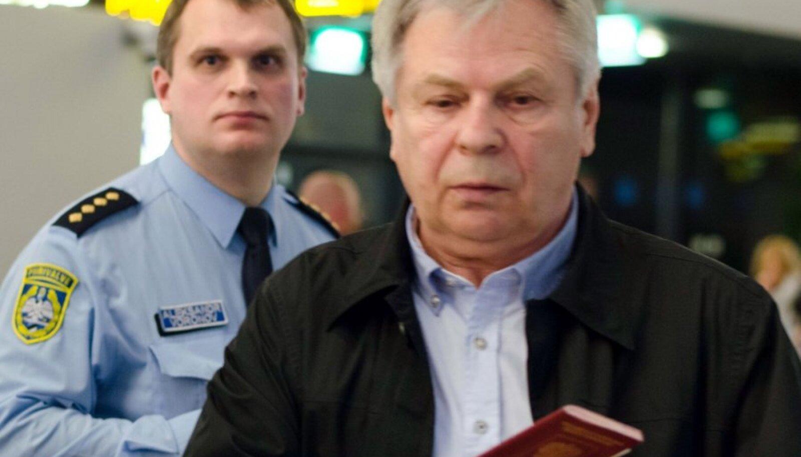 Valeri Tiškovi ei lubatud Eestisse