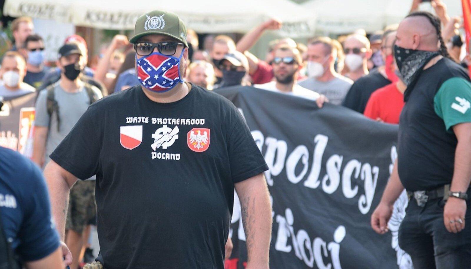 Poola paremäärmuslaste protest