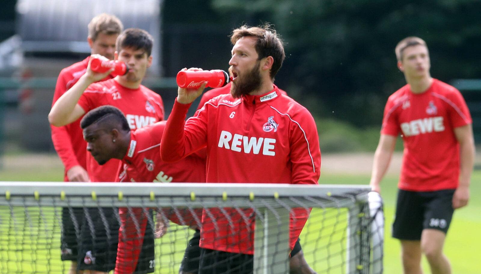 FC Kölni mängijad. Pilt on illustratiivne.