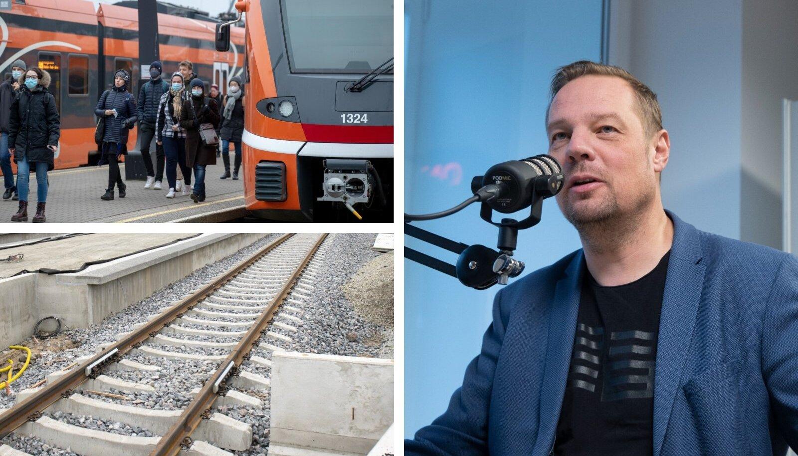 "Riho Vjatkin ""Ertisaates"" raudteeremontidest"