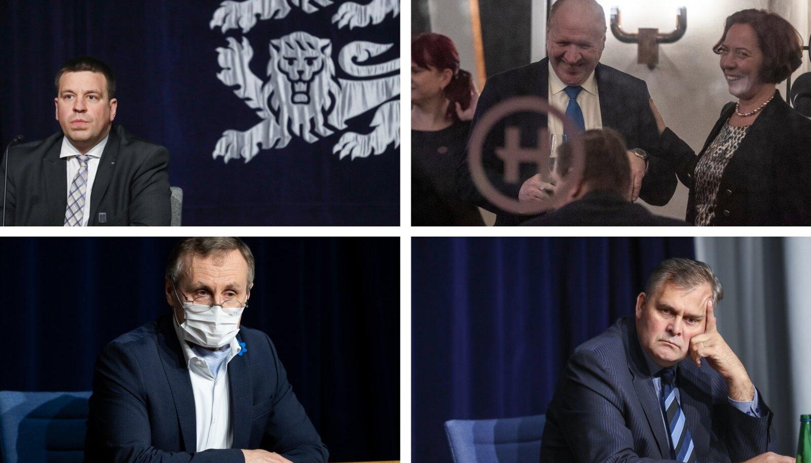 Jüri Ratase valitsuse ministrid