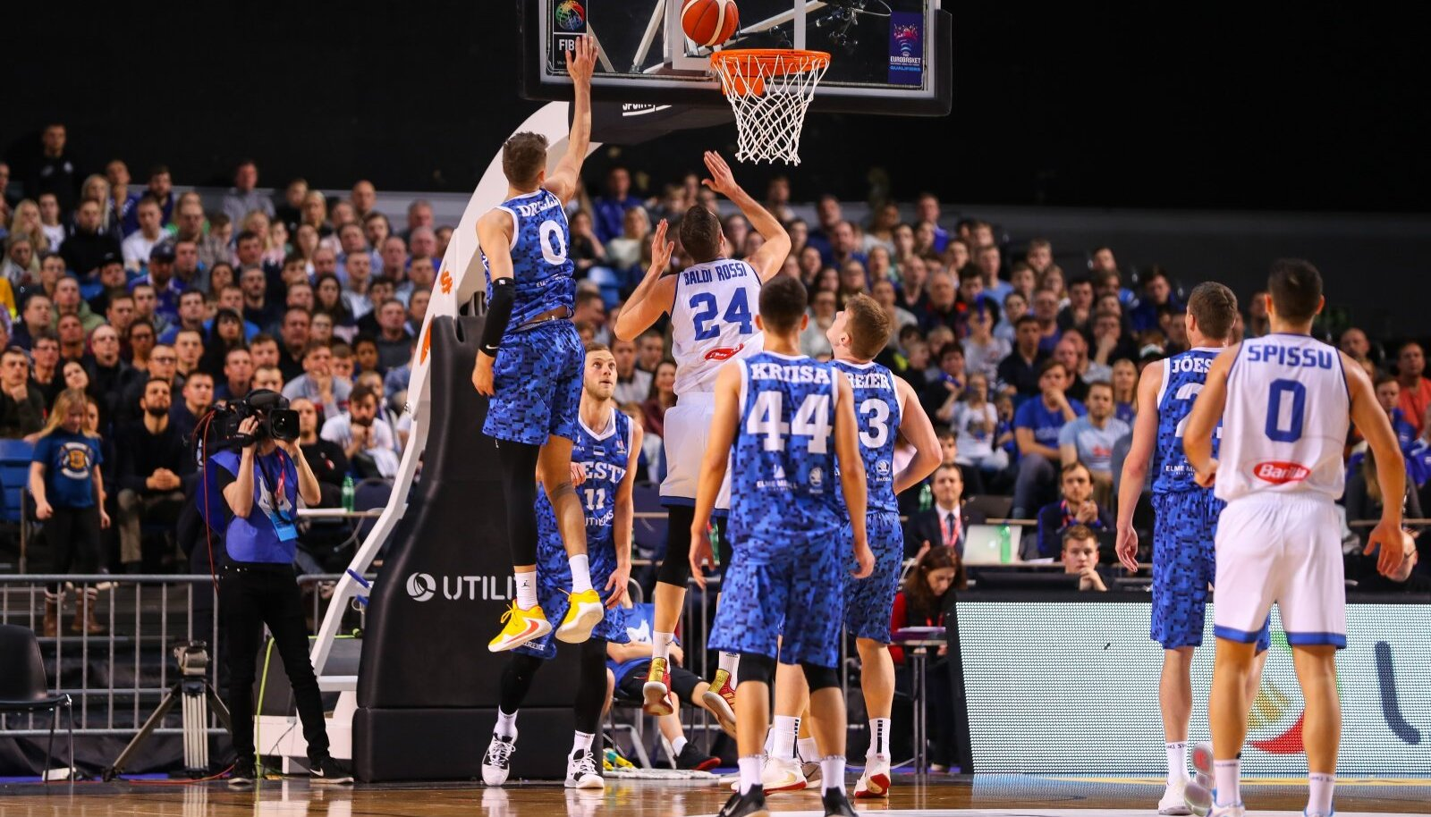 Eesti korvpallikoondis mängis viimati veebruaris Itaaliaga.