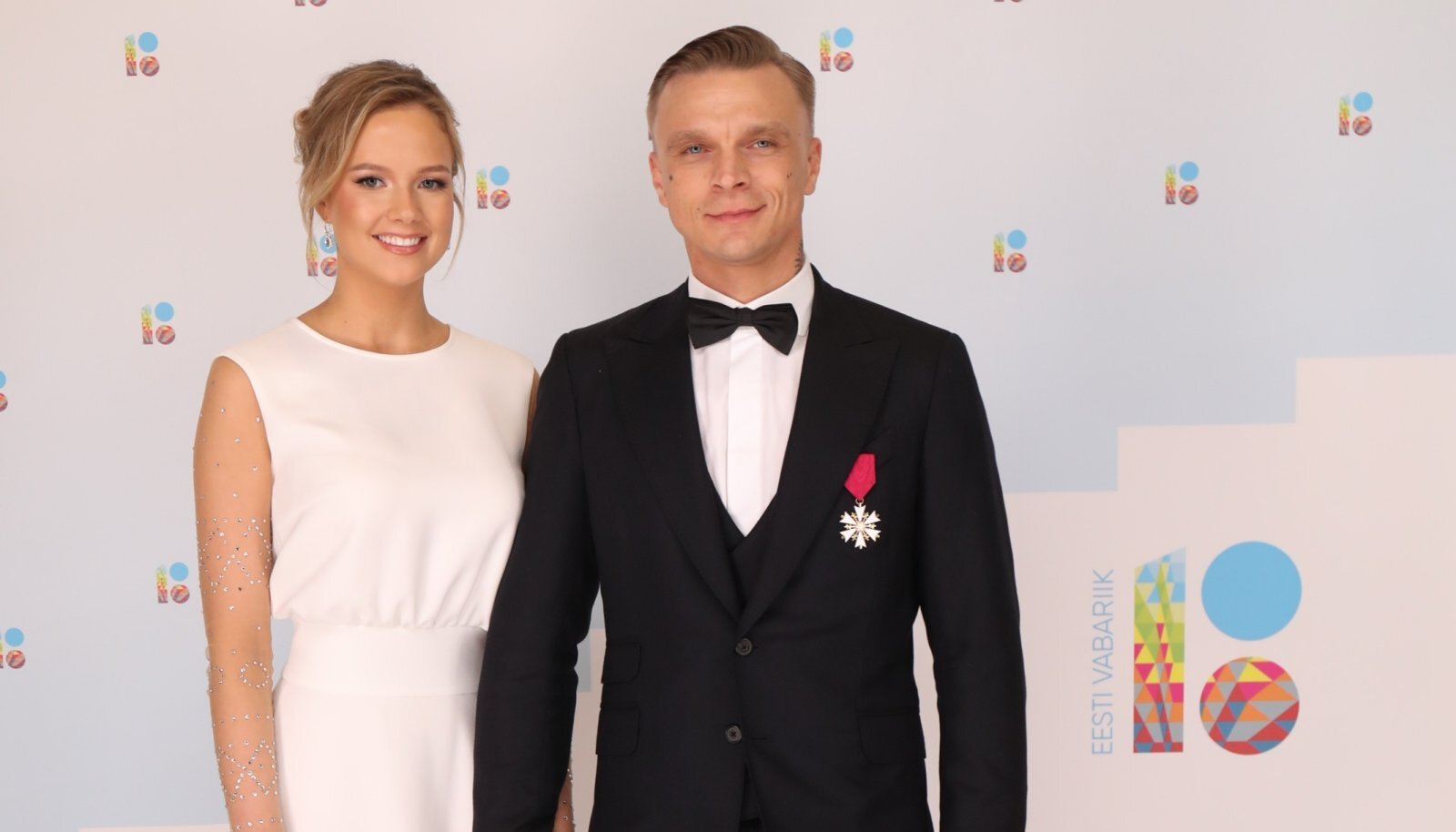 Lauren Villmann ja Tanel Padar