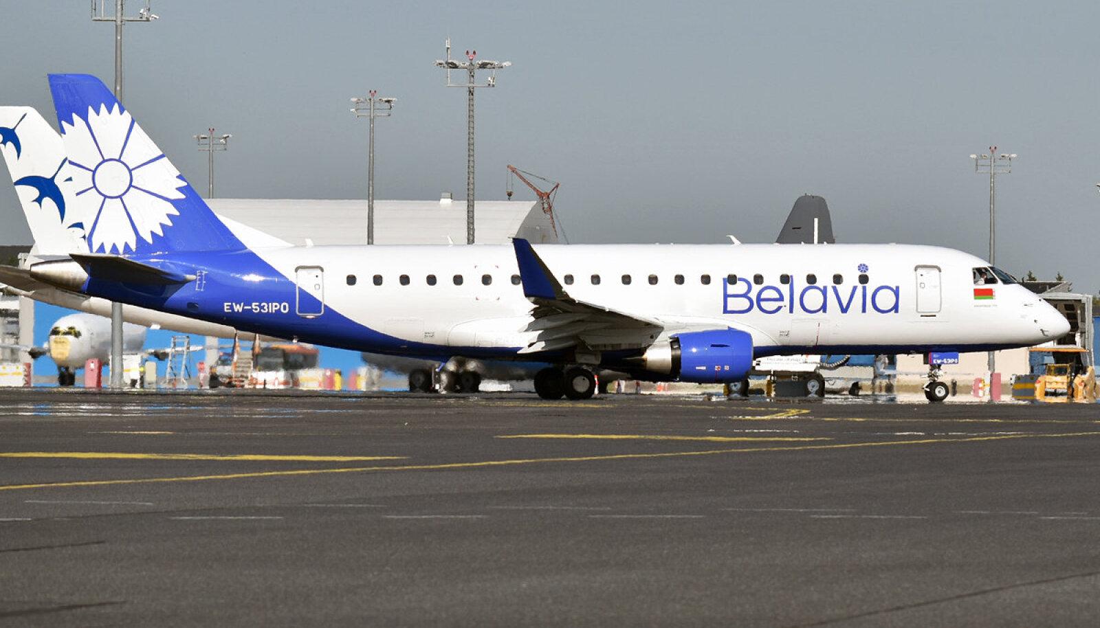 Viimane Tallinnas maandunud Belavia lennuk