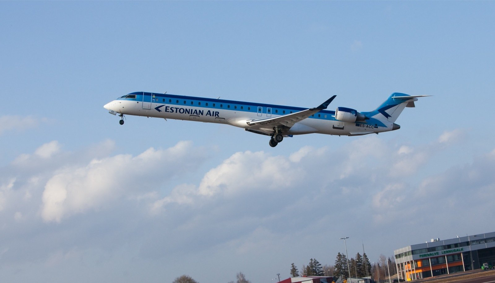 Oht, et Estonian Airi lennukid ühel päeval enam ei lenda, on Salva Kindlustuse jaoks liiga suur.