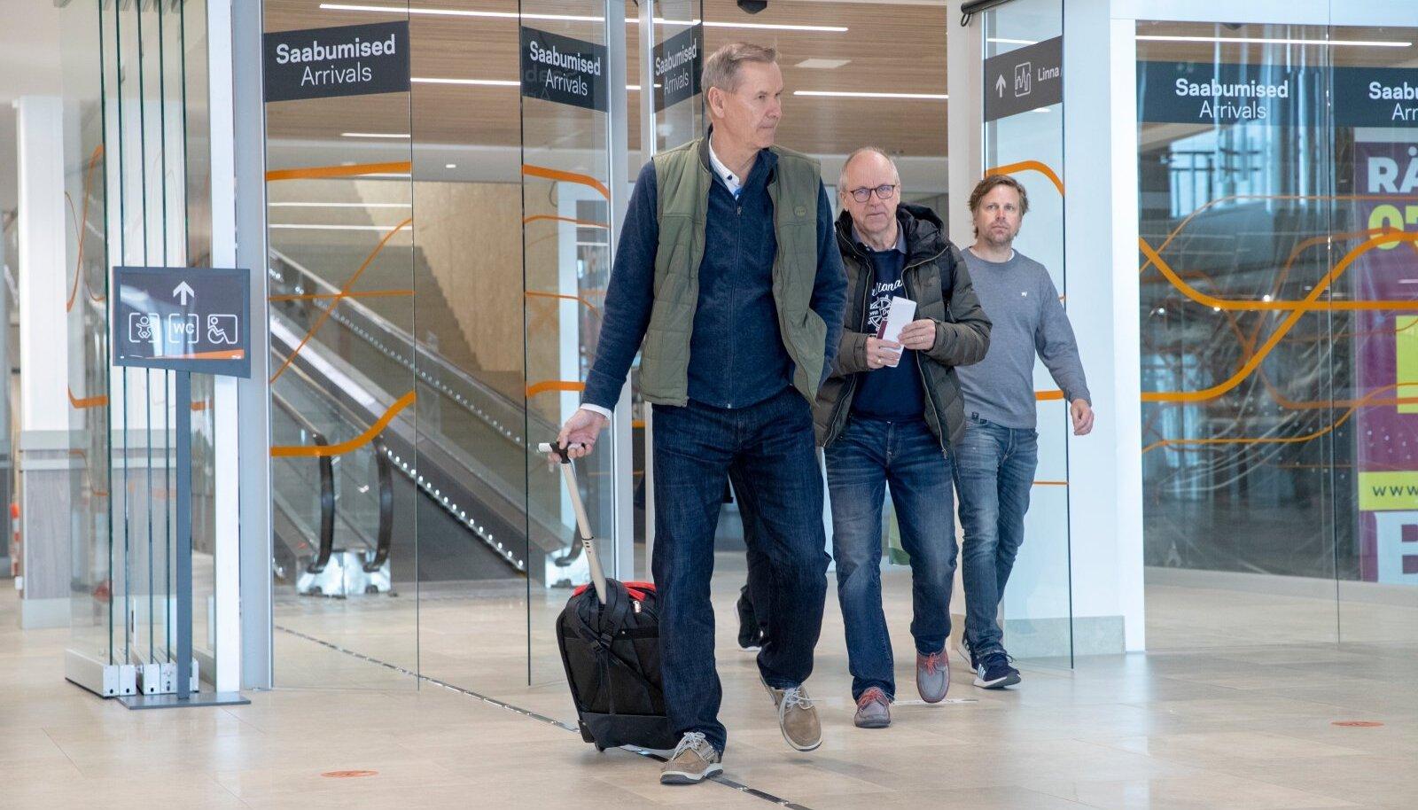 Soome, reisivad ja Soomest Eestisse saabuvad inimesed