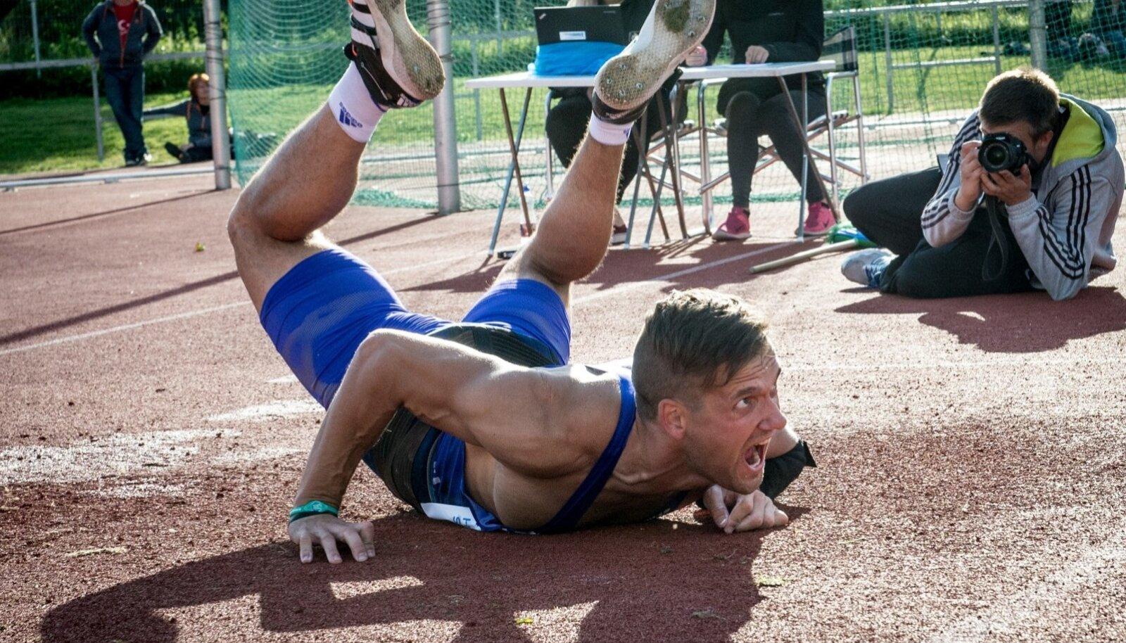 Magnus Kirt viskas Eesti kõigi aegade teise tulemuse