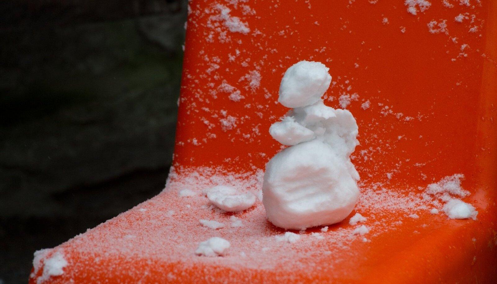 Pisikese lumememme ehk jõuluks ikka saab!