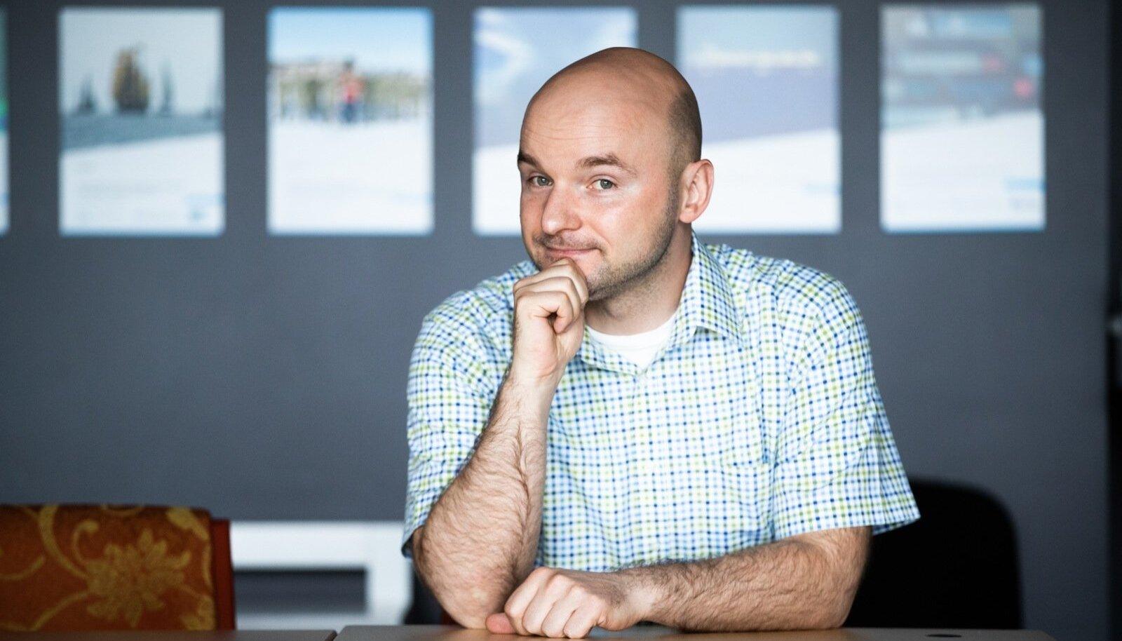 Rahvusvahelise Kaitseuuringute Keskuse tegevjuht Dmitri Teperik