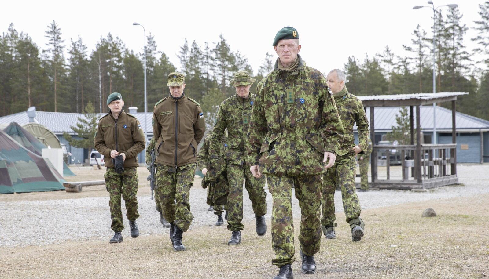 Kindralmajor Herem Kevadtormil (foto: Ardi Hallismaa / ajakiri Sõdur)