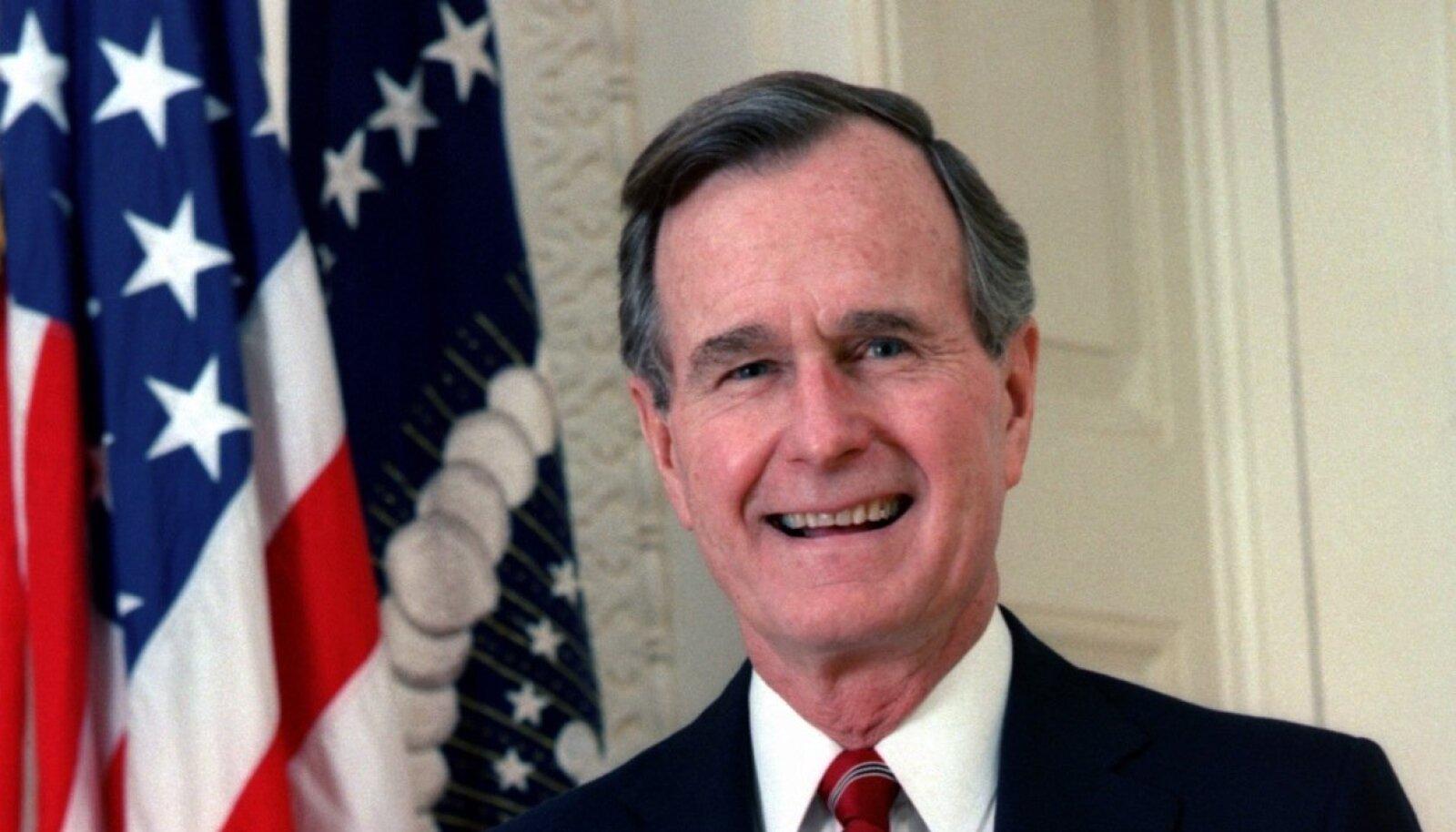 USA presidendi George H. W. Bushi esindusfoto
