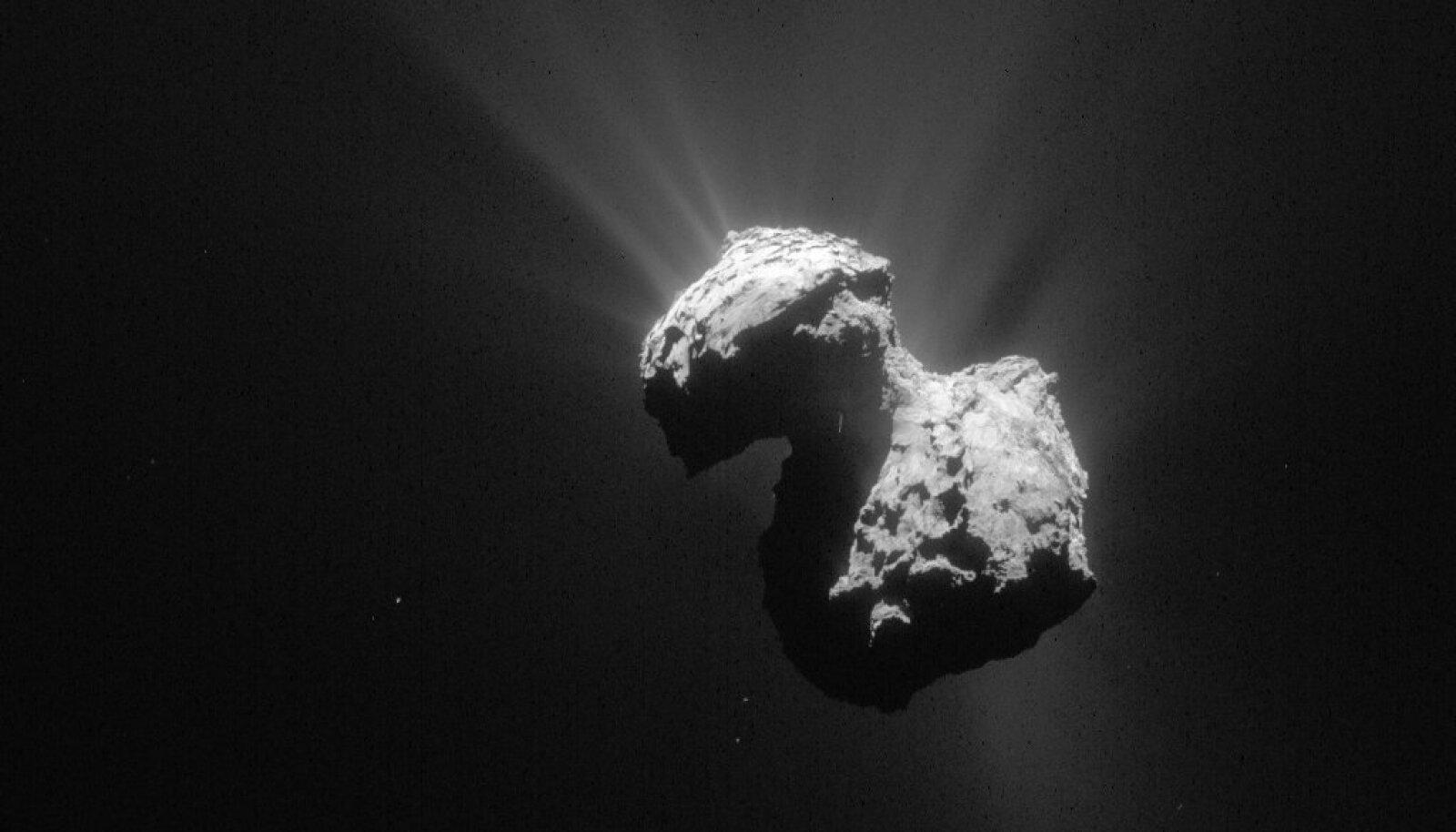 (Foto: Wikimedia Commons / ESA, Rosetta, NAVCAM)