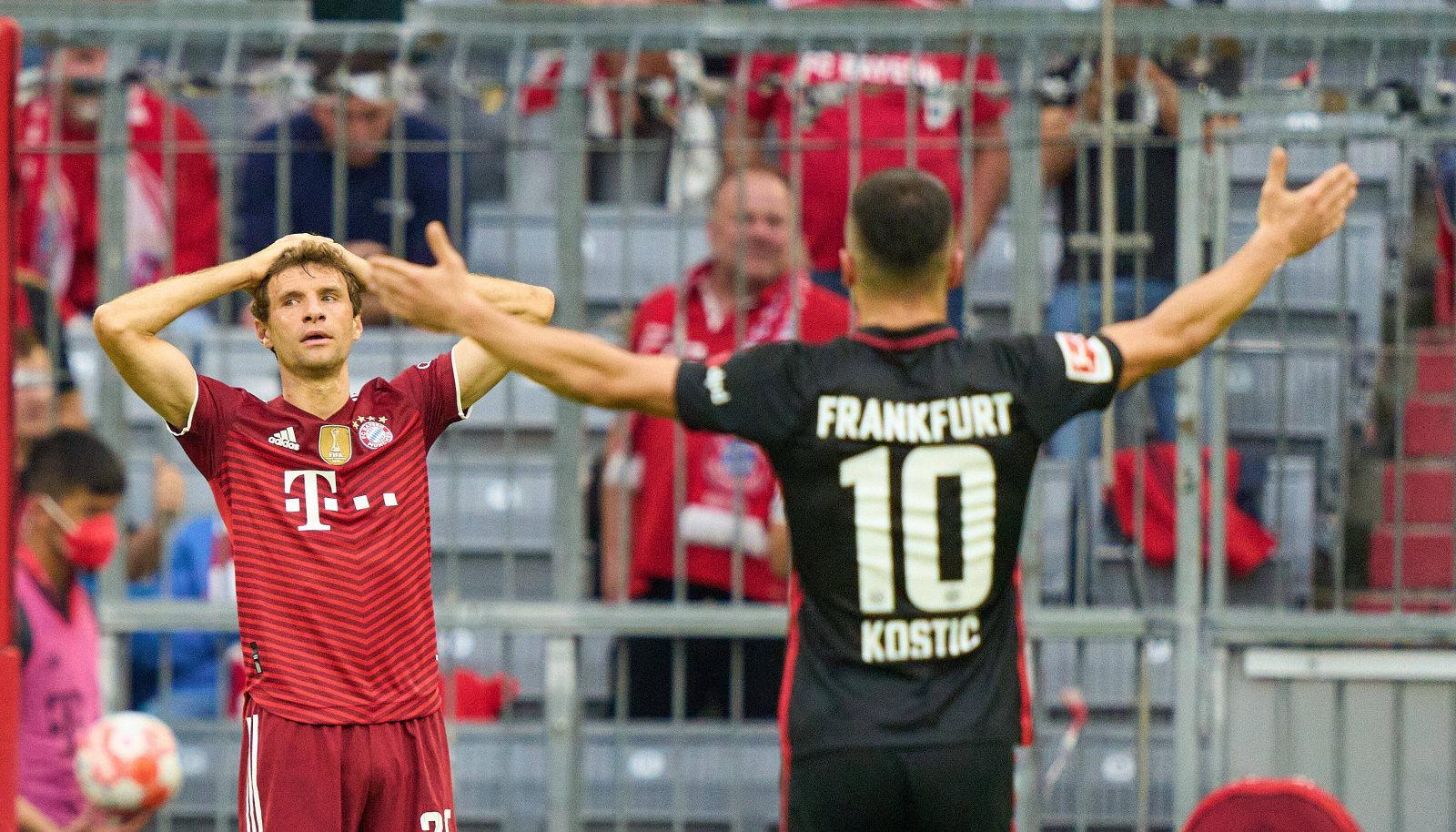 Bayern pidi Eintrachti paremust tunnistama.