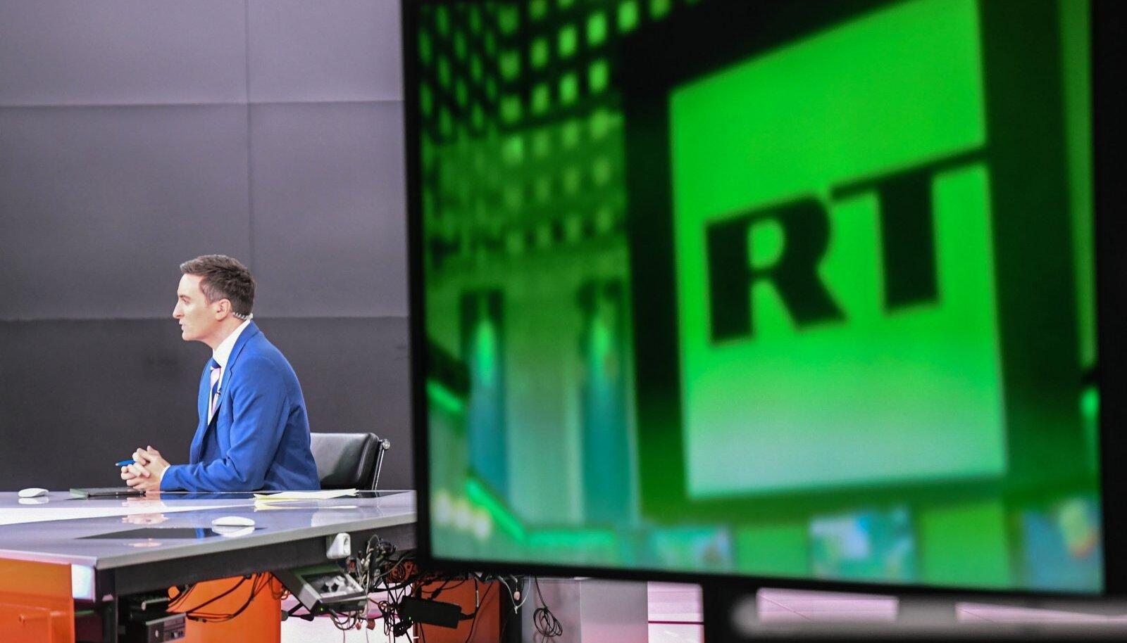 Russia Today kontor Moskvas