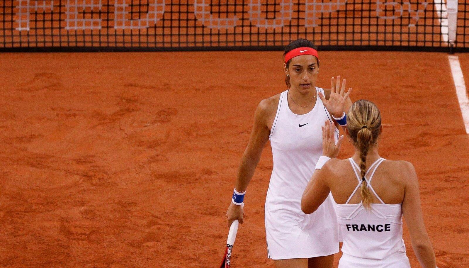 Caroline Garcia ja Kristina Mladenovic.