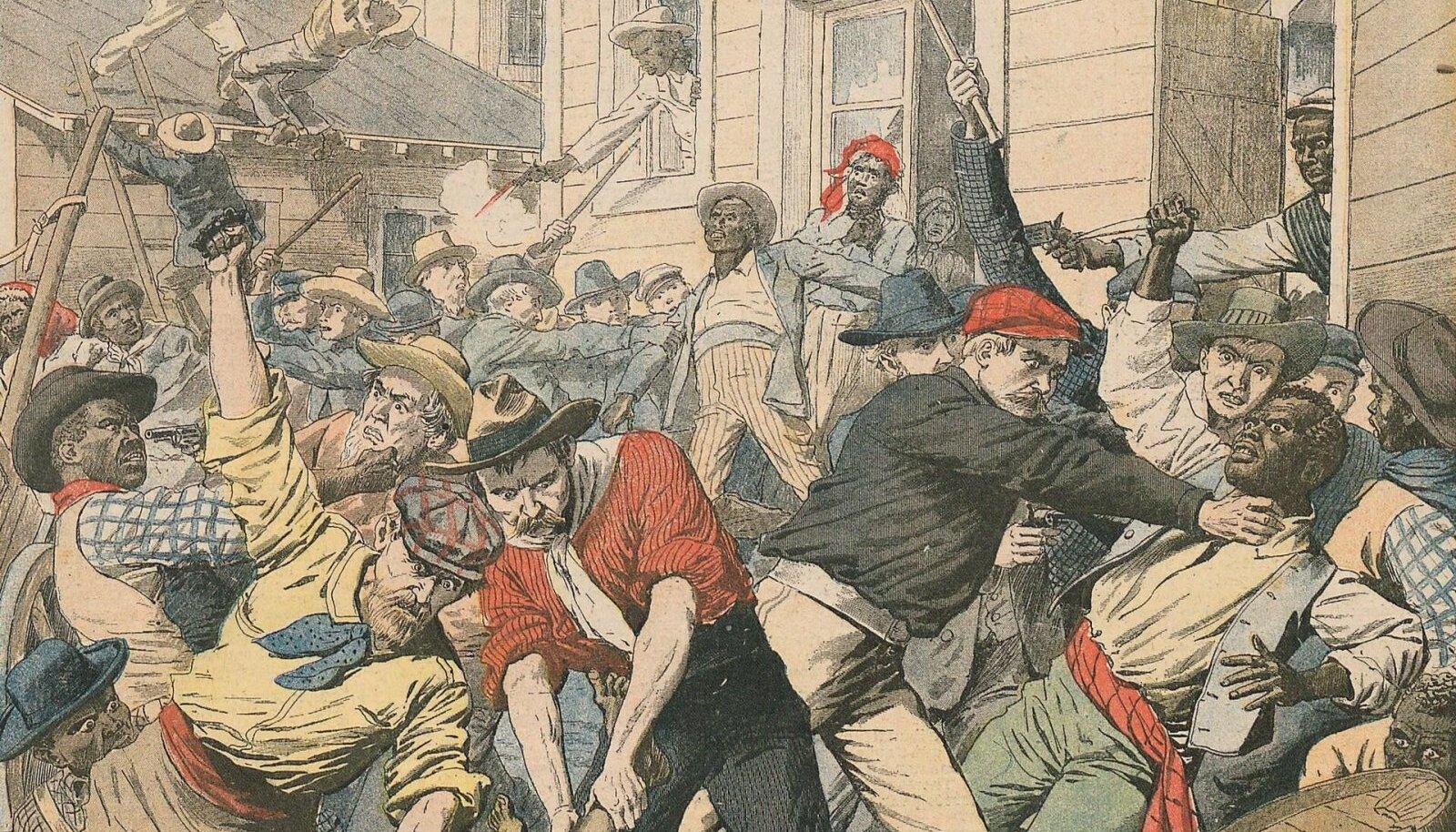 Illustreeriva tähendusega pilt, mis loodud küll ühe teise sarnase sündmuse kohta (Foto: Wikimedia Commons)
