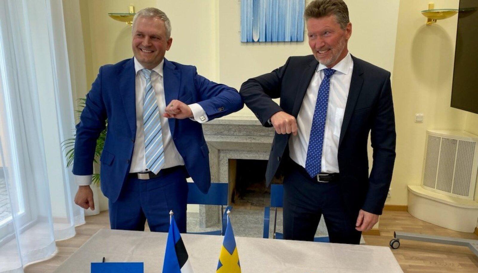 Калев Каллеметс и Торбьорн Вальборг