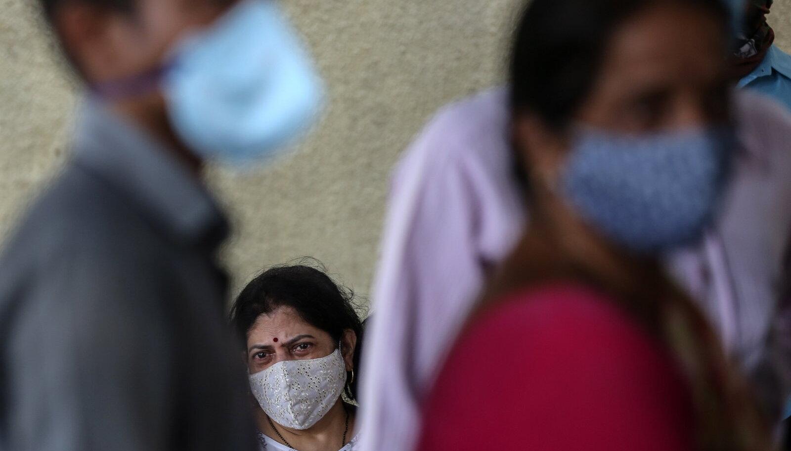Illustratiivne pilt: pandeemia Indias (foto: EPA / Scanpix)