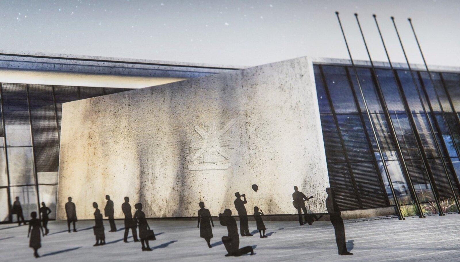 Sisekaitseakadeemia uue hoone võidutöö