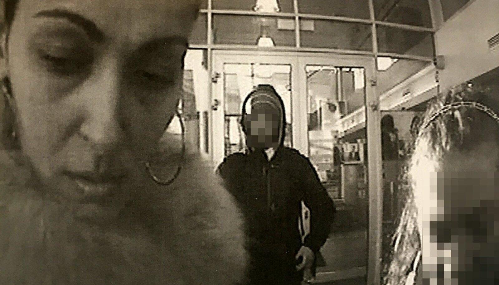 RAHA TULEB: Pangaautomaat salvestab hetke, kui Rubina võtab tütre kontolt välja raha, mille on tema ohvrid kandnud.