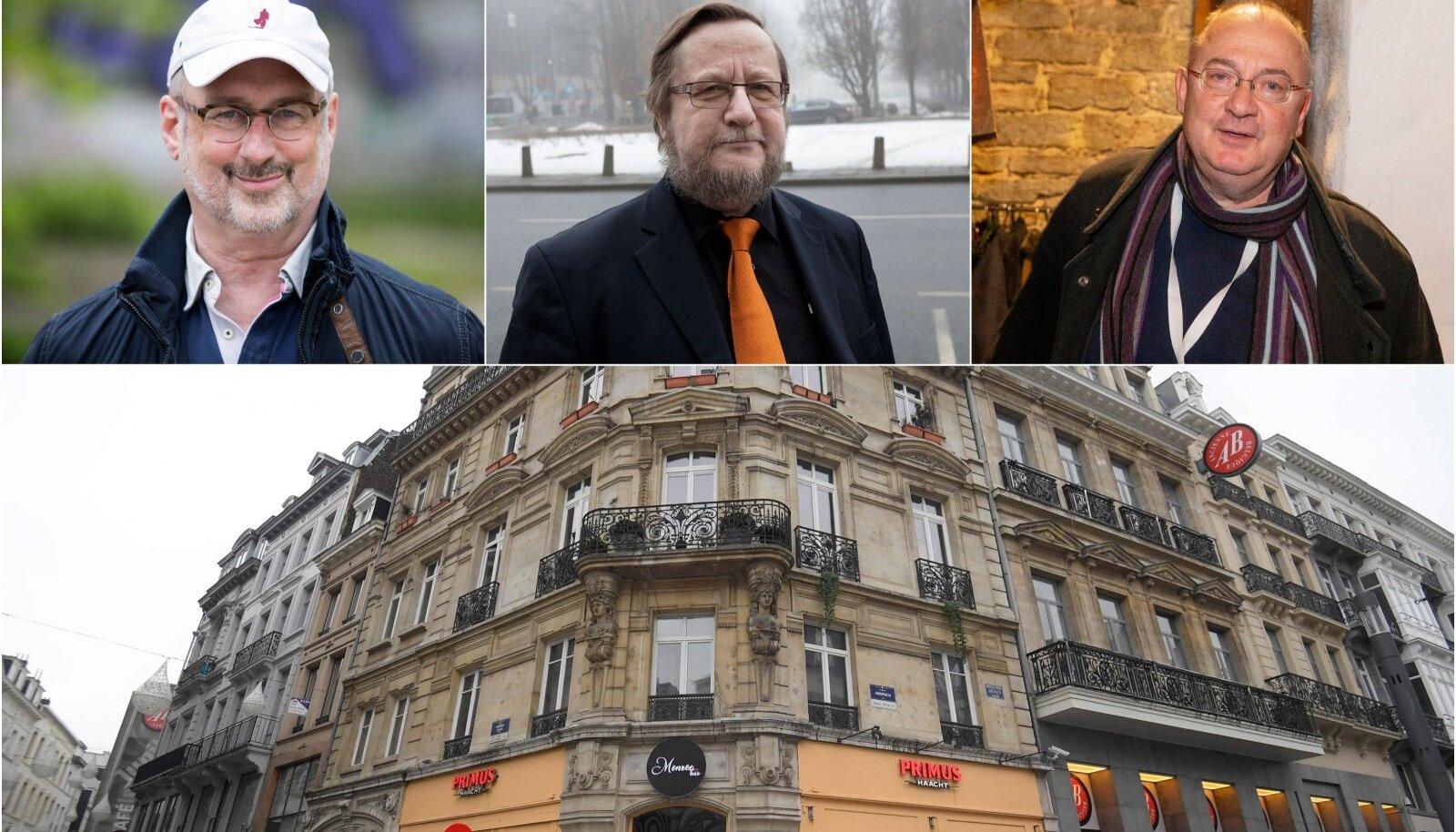 DIPLOMAADID KOMMENTEERIVAD: Mida arvata Brüsselis Eesti diplomaadi osalusel toimunud geiorgiast, kus rikuti karantiinireegleid? Orgia leidis aset baari Monroe kohal asuvas korteris (alumisel fotol).