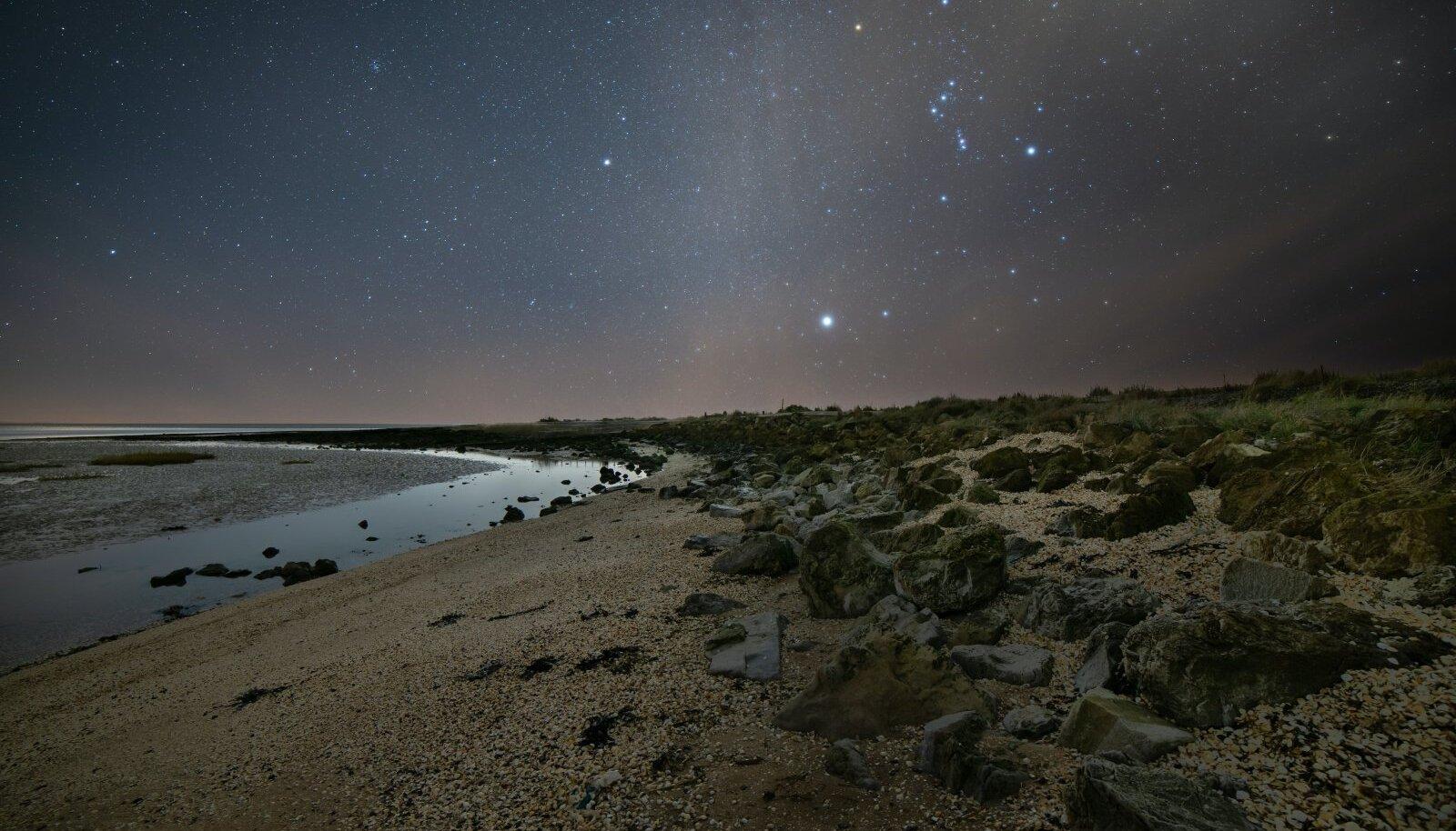 Illustratiivse tähendusega pilt tähtedest (Foto: Unsplash.com / Joseph Vary)