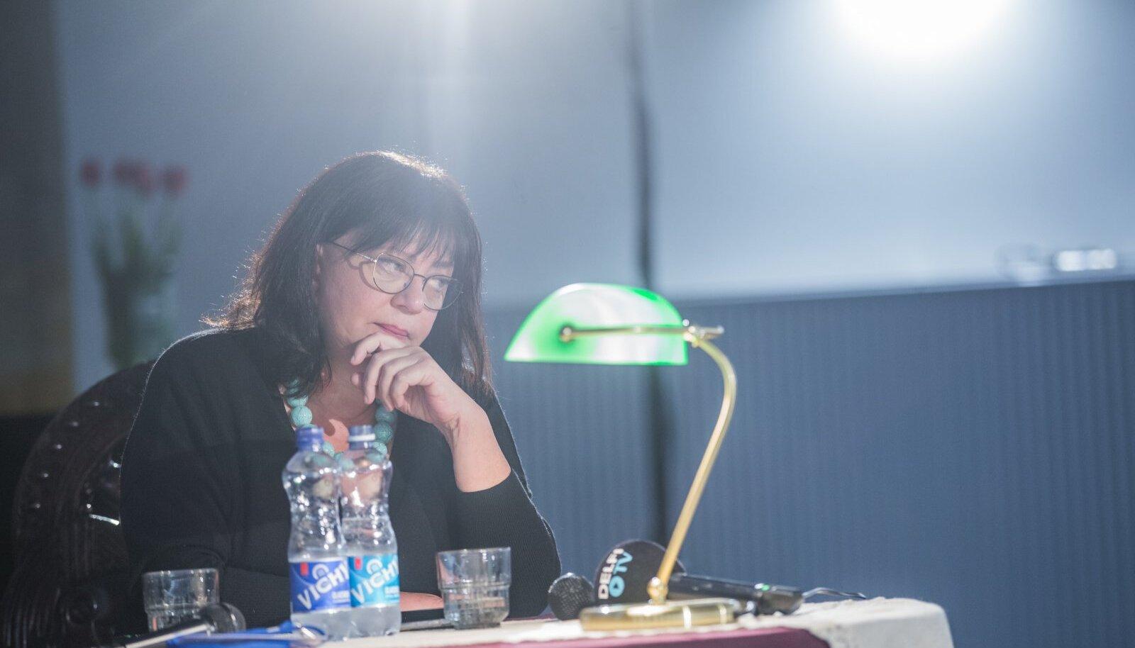 RIKKA KEELEGA INIMENE: Tatjana Tolstaja ülemöödunud aastal kirjandusfestivalil Prima Vista.
