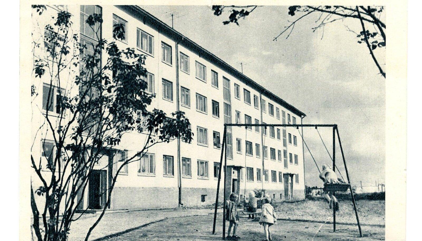 Uues linnajaos, 1965. Foto R. Maran
