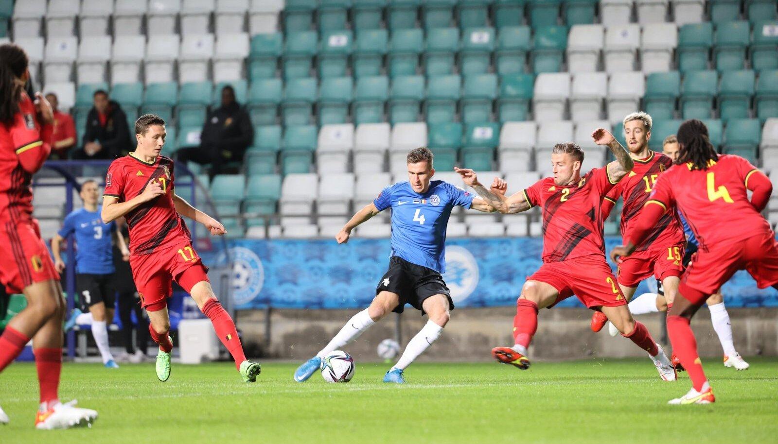 Mattias Käidi löök viis Eesti juba teisel minutil juhtima.