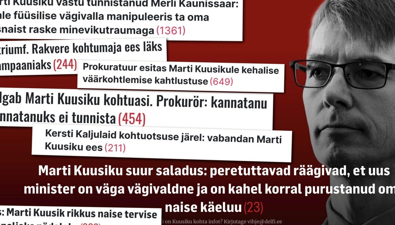 Marti Kuusiku kohtuasi tõi lähisuhtevägivalla teema teravamalt päevakorda kui kunagi varem. Ekspertide sõnul ei maksa perevägivalla all kannatajatel esimese kohtuastme otsusest enda jaoks järeldusi teha.