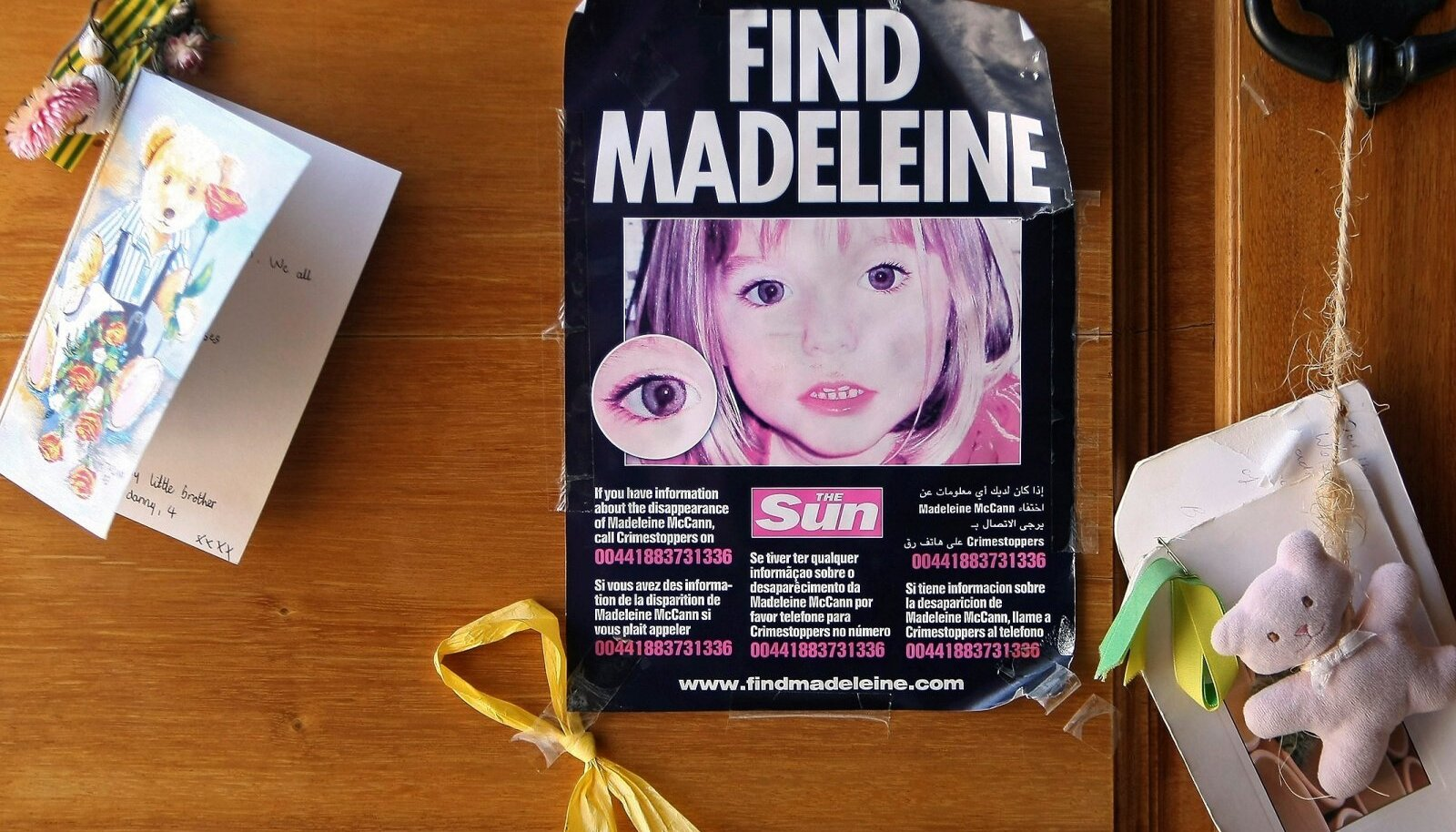 Madeleine'i otsimiskuulutus
