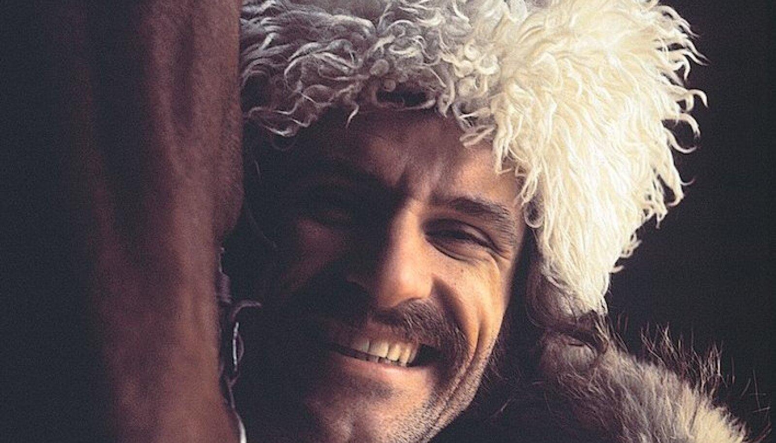 Виктор Клименко в образе казака
