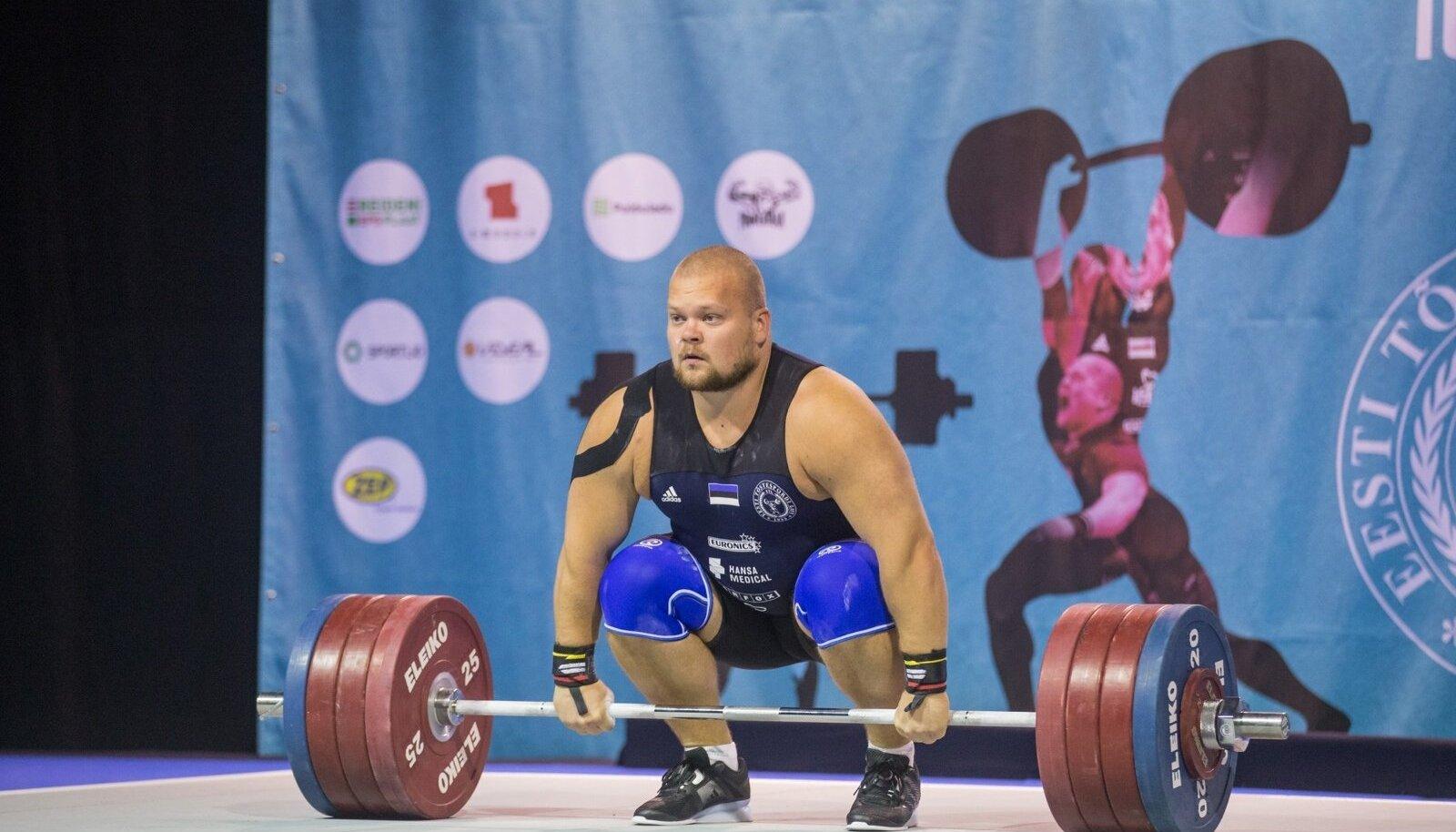 Mart Seim rebis MM-il 175 kg ja tõukas 225.