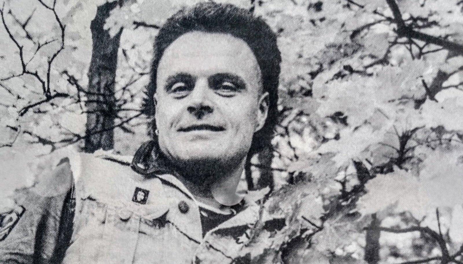 Pelle Miljoona aastal 1985, kui esimest korda Tallinnas käis