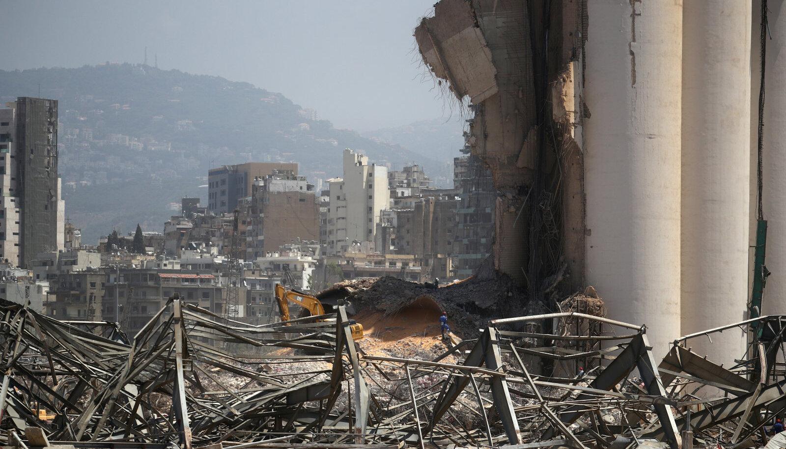 Purustused Beirutis