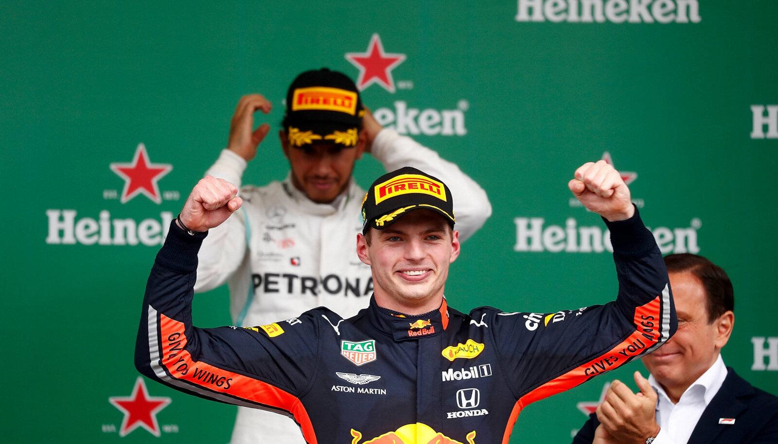Kas Max Verstappen suudab tänavu Hamiltoni alistada?