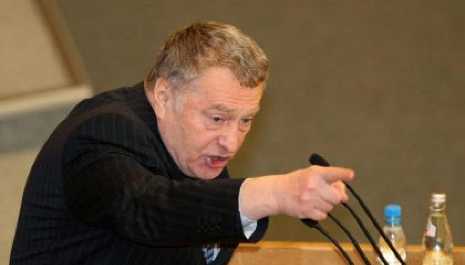 LDPRi juht Vladimir Žirinovski