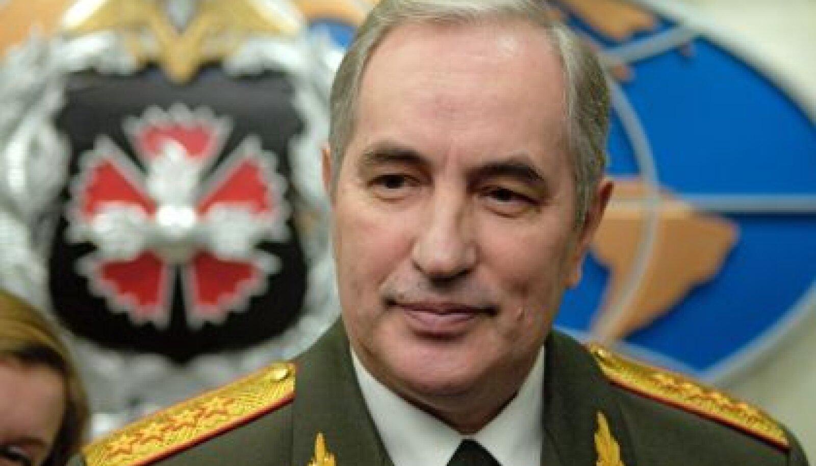 Venemaa sõjaväeluure (GRU) juht armeekindral Valentin Korabelnikov