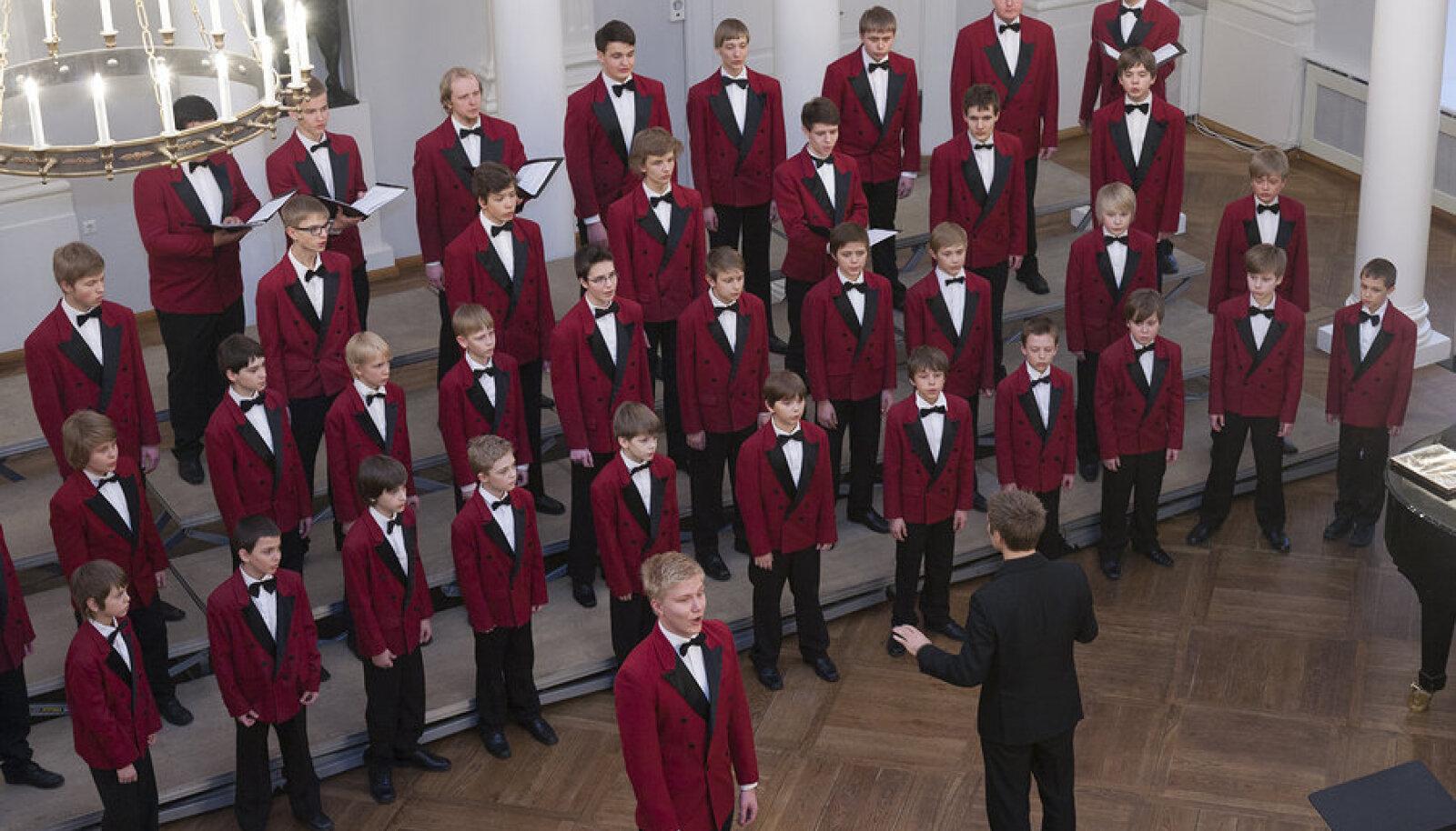 A-kategooria - klassikaline poiste segakoor, võitja Tallinna Poistekoori (dirigendid Lydia Rahula ja Tomi Rahula)