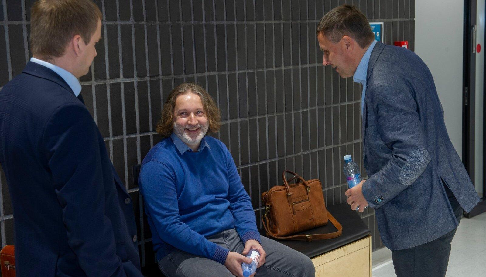 ENDISED POLITSEINIKUD OMAVAHEL: Aivar Orukask ja Viljar Subka.