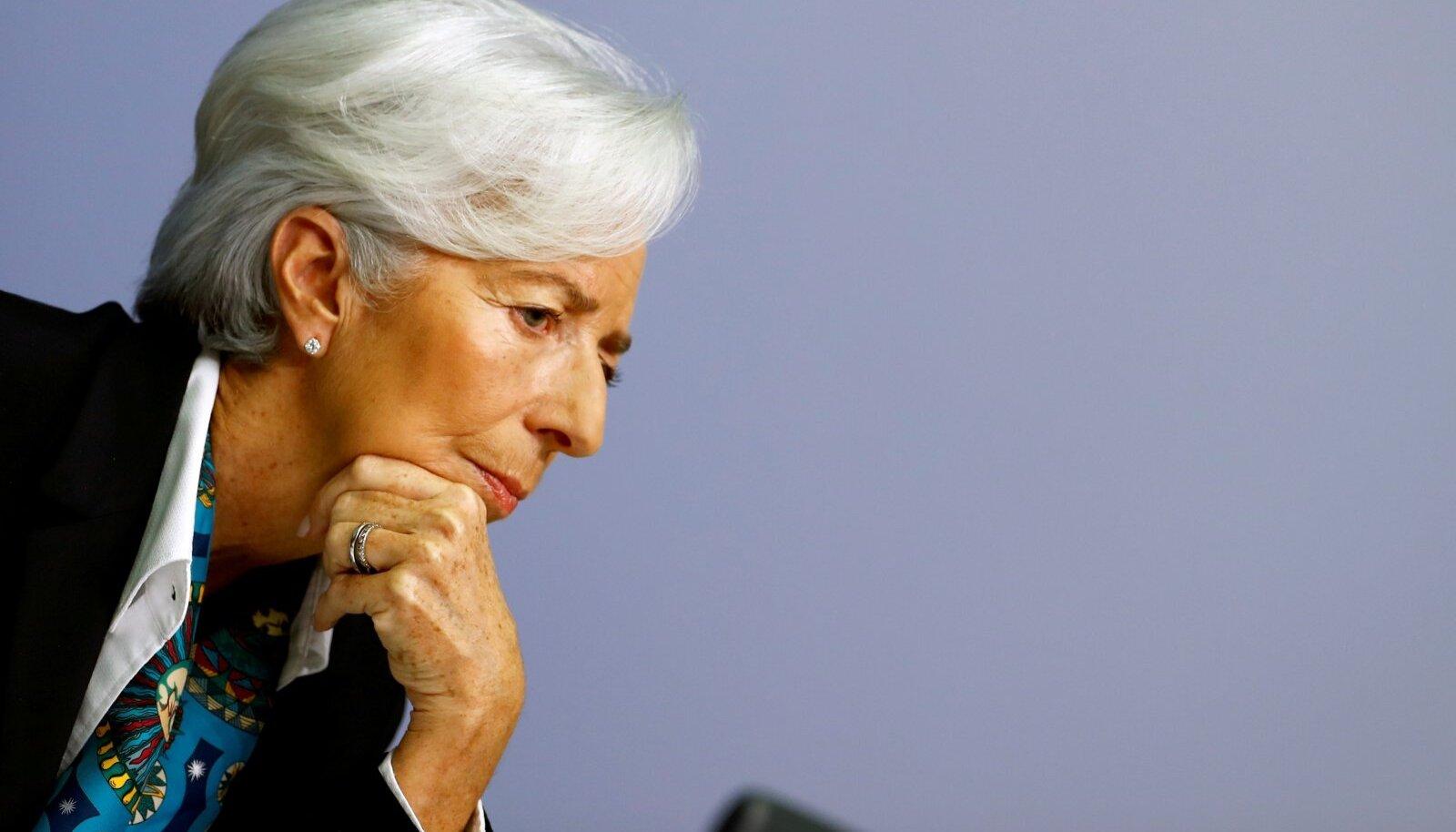 Euroopa Keskapnga juht Christine Lagarde.