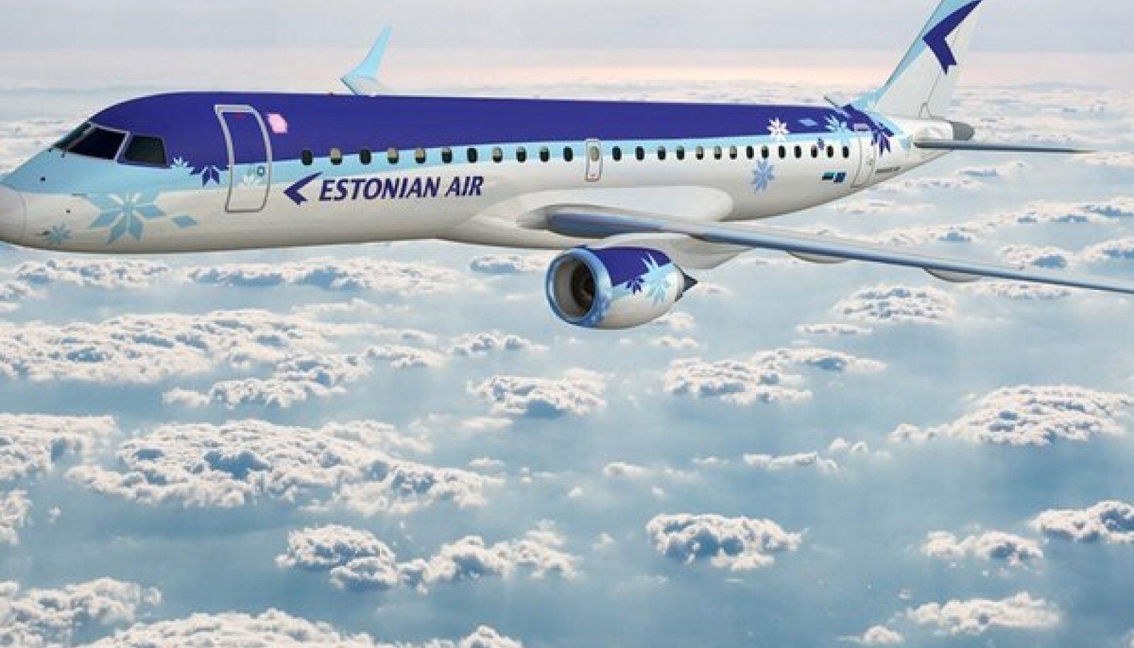 Estonian Air Embraer 190