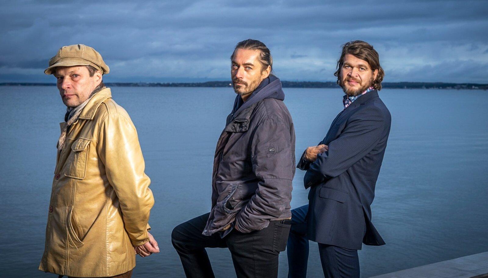 Andrei, Mart ja Arbo.