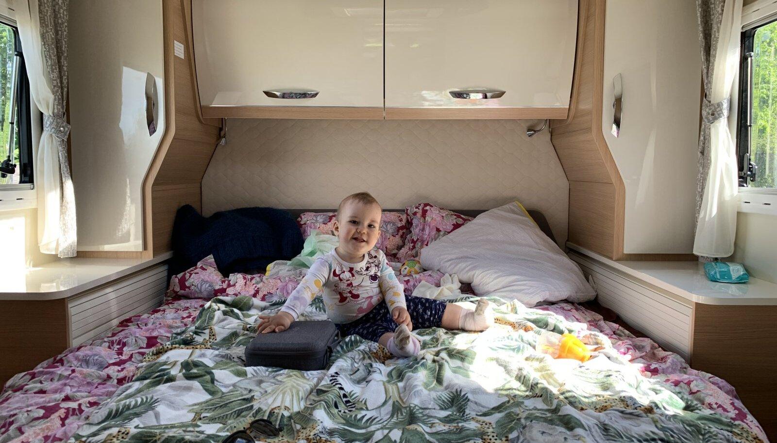 Üheks võimaluseks sellel suvel seigelda on rentida või osta kogu peret rõõmustav matkaauto.