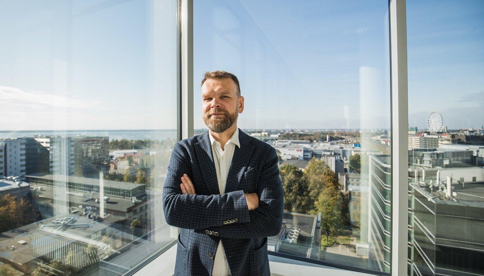 Gert Jostov on Technopolis Ülemiste ASi juhatuse esimees.