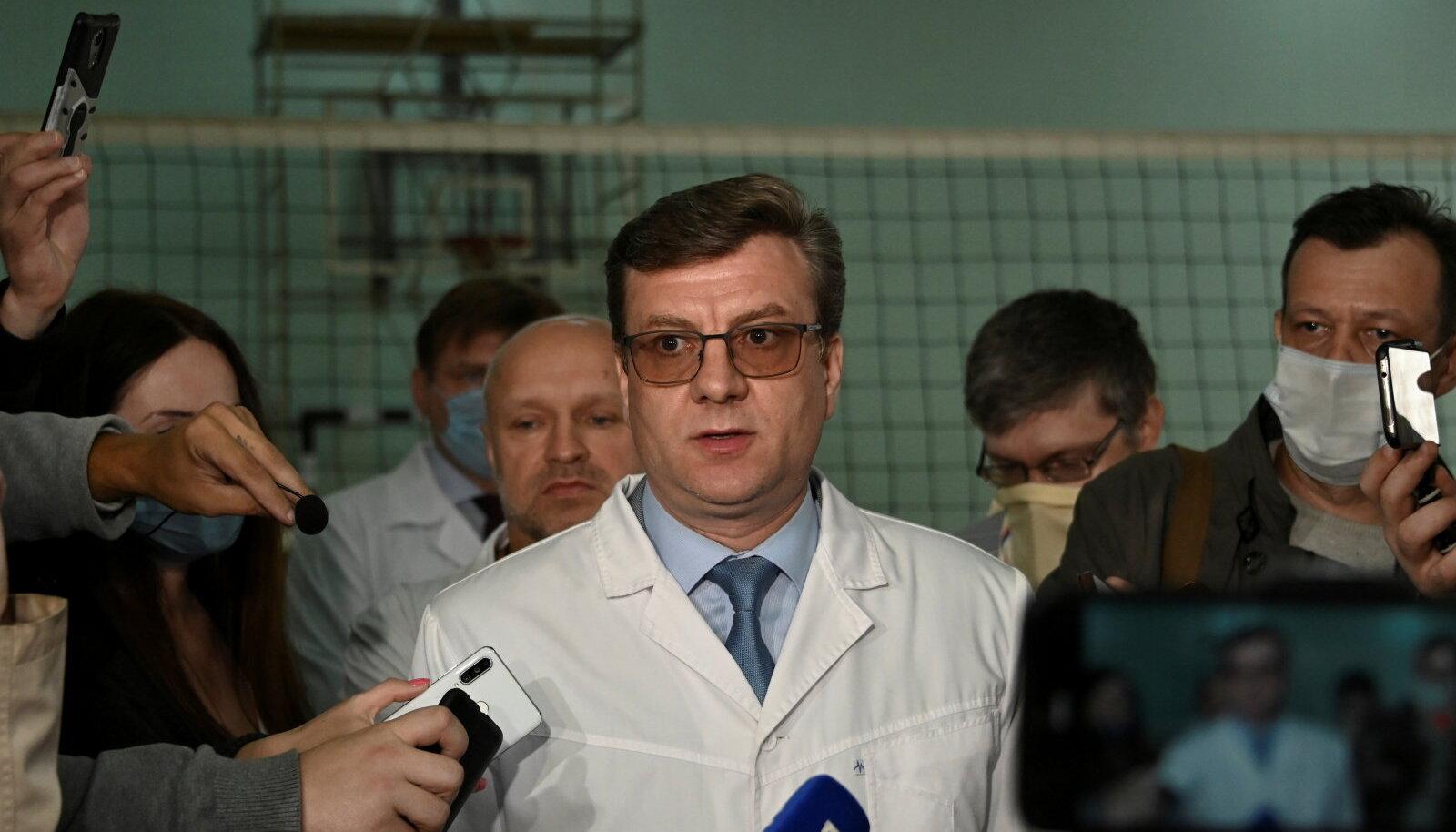 Aleksandr Murahhovski haiglajuhina