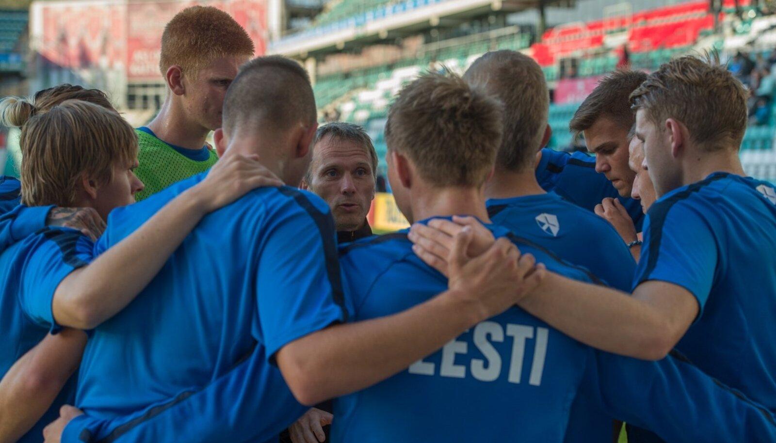 Eesti kuni 21aastaste jalgpallikoondis