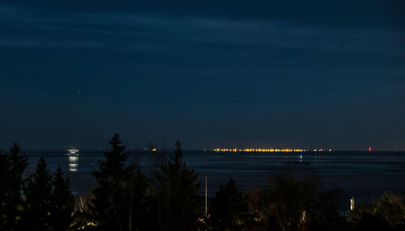 Tallinna tuled vaadatuna Helsingist