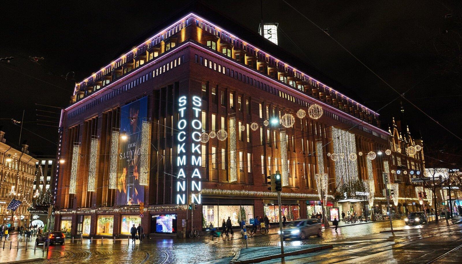 Helsingi Stockmanni jõuluaknad